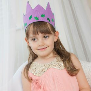 lilac-crown