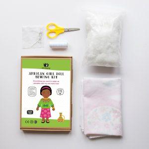 AFRICAN DOLL BOX 2