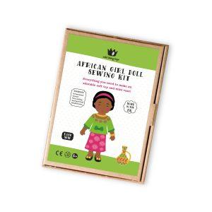 AFRICAN DOLL BOX