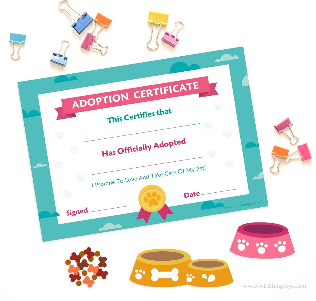 pet certificate